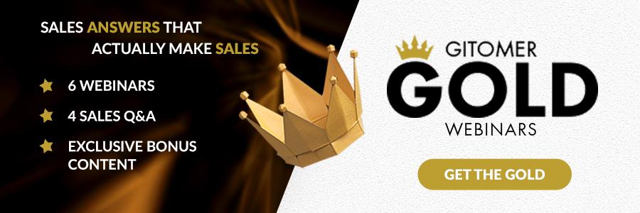 Get Gitomer Gold